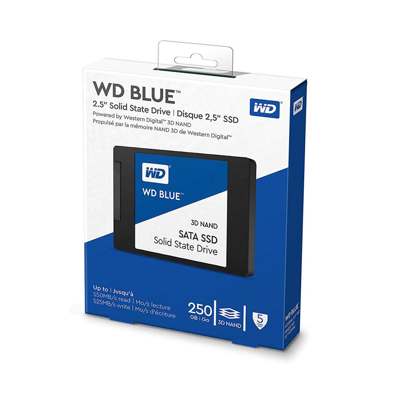 اس-اس-دی-اینترنال-وسترن-دیجیتال-مدل-Blue-WDS250G2B0A-ظرفیت-250-گیگابایت