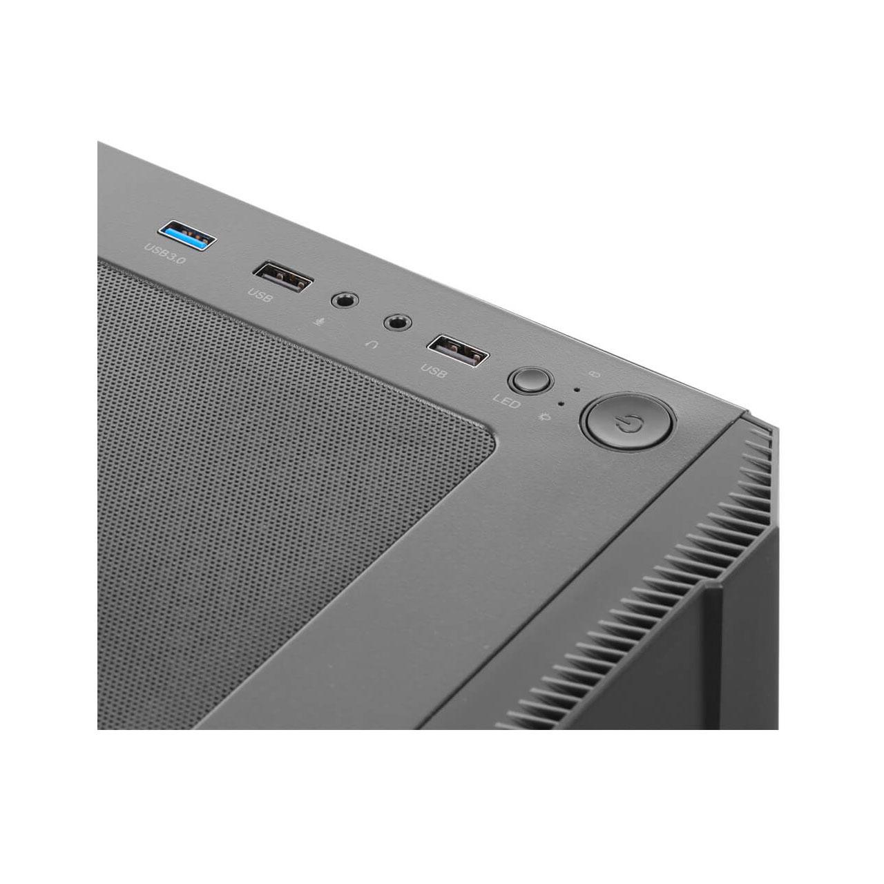 کیس3311-کامپیوتر-گرین-Aria