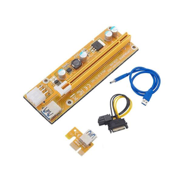 رایزر-گرافیک-تبدیل-PCI-EXPRESS-X1-به-X16-مدل--gold-009s