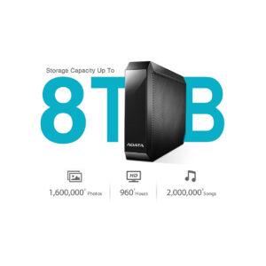 هارد-دیسک--اکسترنال-ای--دیتا-مدلHM800-8TB